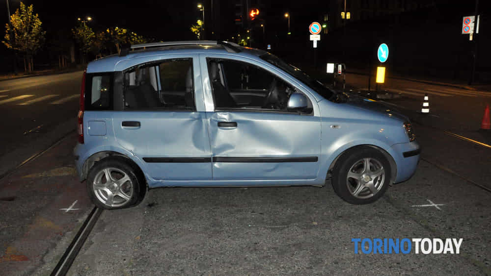 Torino mortale Suzuki Panda Mattia Attademo Sovietica Cristoforis 15 9 19 2-2