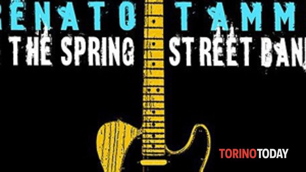 spring street band a collegno lunedì 15 luglio-2