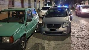 Torino inseguimento Montanaro Lanzo Citroen C2 Arresto 5 12 19 2-2