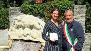 sindaco giaveno carlo giacone con tanya gervasi-2