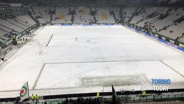 juventus atalanta rinviata neve allianz stadium 3-2