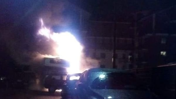 Rivoli Cascine Vica viale Firenze incendio mezzi 15 11 19 2-2