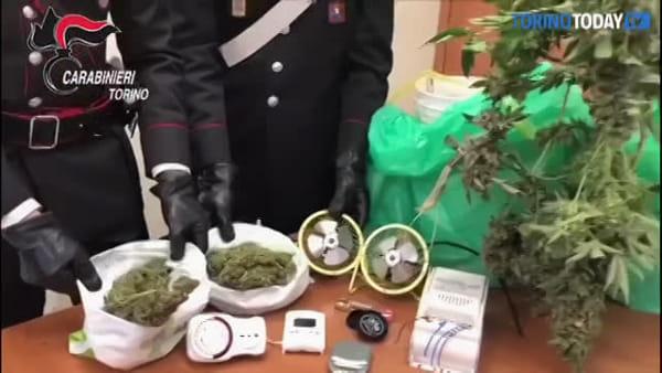 Spacciatore in strada nonostante il divieto di circolazione, i carabinieri lo denunciano