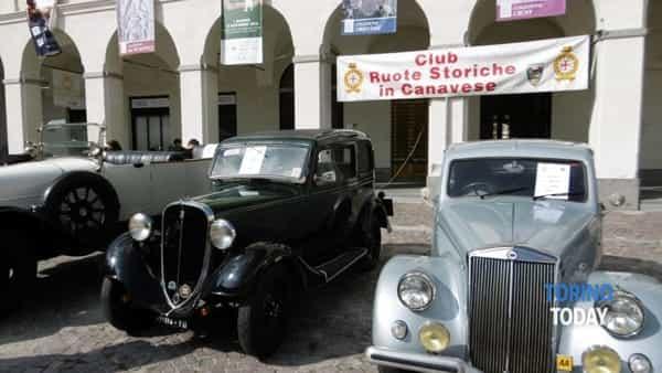 A Ivrea la giornata nazionale del veicolo storico