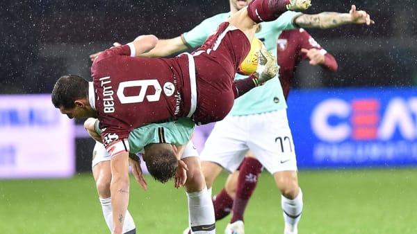 Video gol e sintesi Inter-Torino 3-1: Belotti, Young, Godin, Martinez