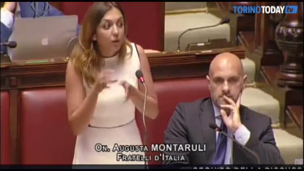 """""""Sono deputato"""", la torinese Montaruli e la polemica dentro l'aula parlamentare"""