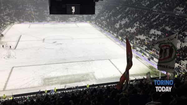 juventus atalanta rinviata neve allianz stadium 2-2-2