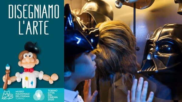 """Museo del Cinema, """"Disegniamo l'arte"""": disegna e colora Star Wars...da casa"""