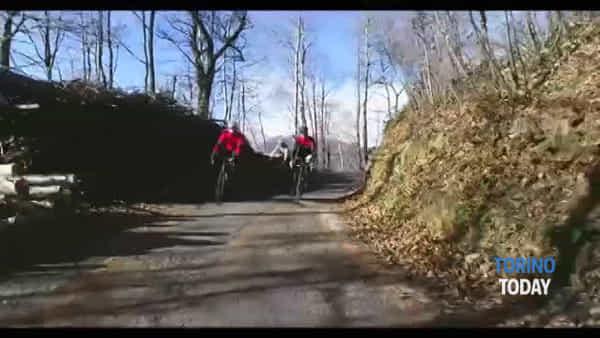 """""""Graie 3000"""", un esercito di ciclisti amatoriali sulle strade delle Valli di Lanzo: video"""