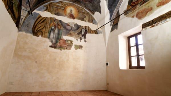 """""""La cultura non va in quarantena"""": gli affreschi di San Grato di Nole su Zoom"""