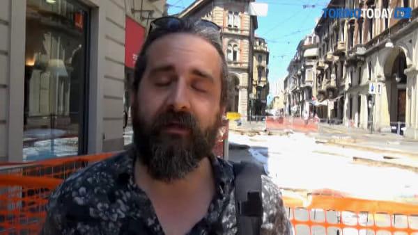 Maxi cantiere per lavori ai binari del tram, ma nessuno ha avvisato i commercianti del centro