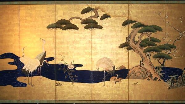 I grandi paraventi giapponesi in mostra al Mao