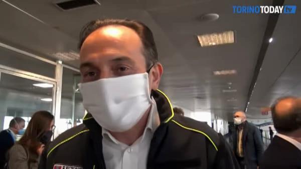 """Coronavirus, arrivati in Piemonte 22 medici volontari, la commozione di Cirio: """"Ho vissuto la malattia"""""""