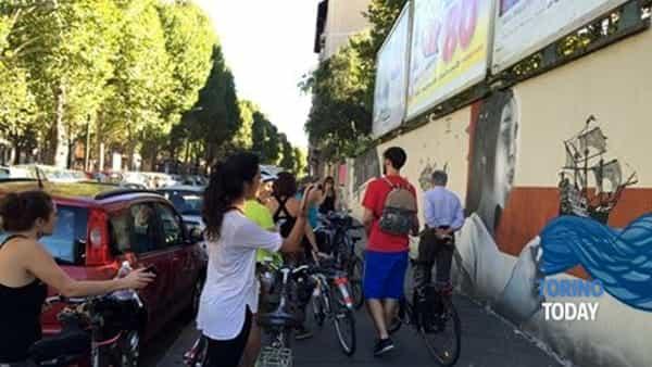 Il Bike Tour alla scoperta della Street Art per le vie di Torino