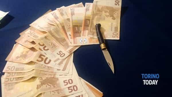 refurtiva rapinatori banca Cuorgné (2)-2