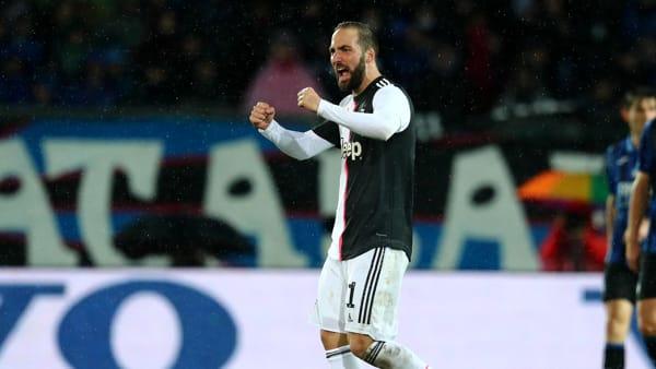 Video gol e sintesi partita Atalanta-Juventus 1-3: Gosens, doppietta Higuain, Dybala