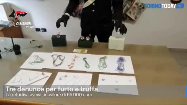 Recuperati orologi, pietre preziose e banconote false: il bottino valeva 65.000 euro