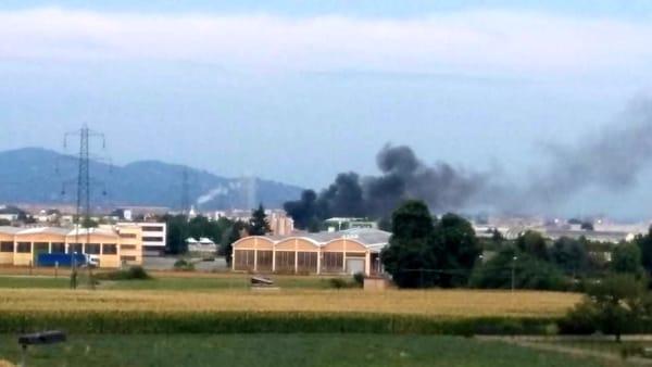 Torino-Bardonecchia, a fuoco la cabina di un camion in ...