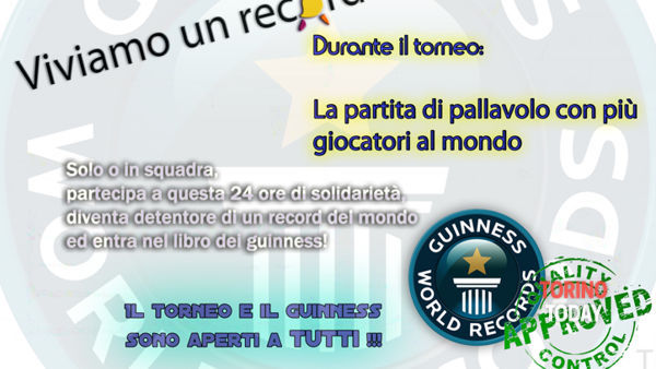 Volleython e Guinness world record