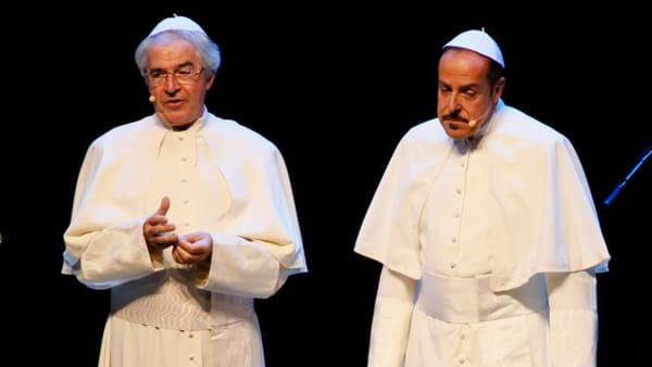 """""""Show"""", Lopez e Solenghi al Colosseo"""