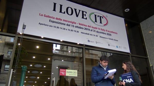 """Il Made in Italy in mostra con 'I love IT': """"Una grande esposizione per dimostrare che è ancora vivo"""""""