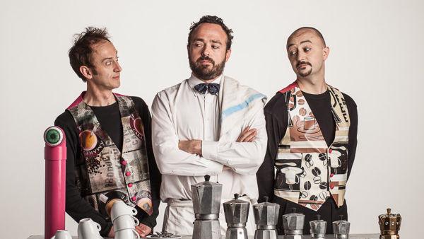Coffee Scioc, tre clown e un caffè al Teatro Superga