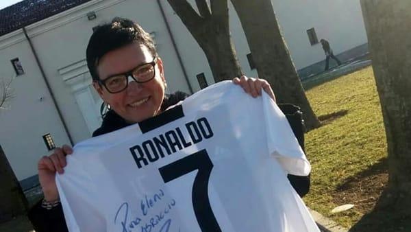elena di martino_tifosa Juve_maglia Ronaldo-2