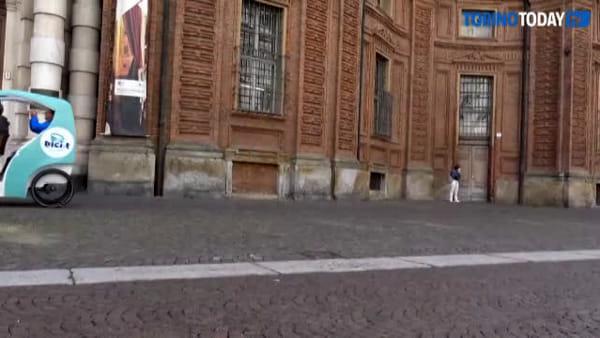 Arrivano i tricicli per i turisti: partiranno dalla Mole e da piazza Carignano