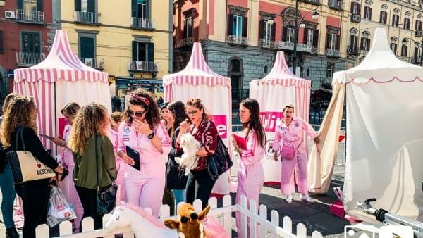 Arriva il Circo Cinico in piazza Solferino
