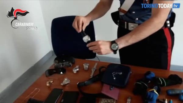 Svaligiavano le abitazioni mentre i proprietari stavano dormendo: arrestati tre topi d'appartamento