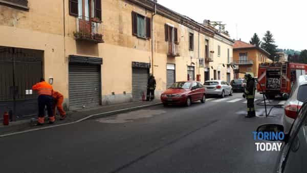 Pinerolo via Gioberti vigili del fuoco (1)-2