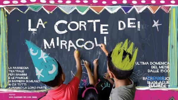 La corte dei miracoli, teatro per bambini a Barriera di Milano