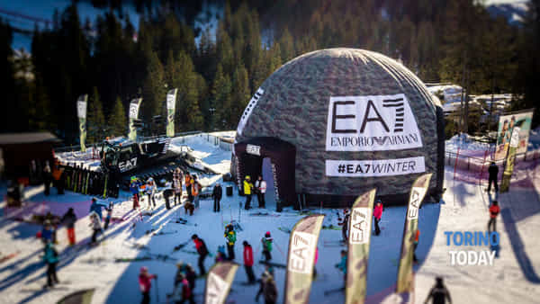 Winter Tour EA7 torna a Sestriere