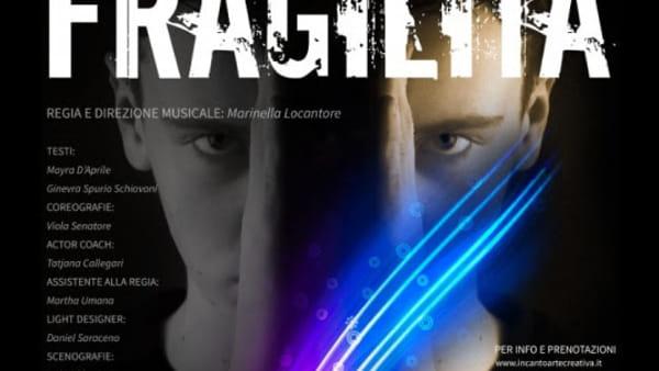 """""""Fragilità"""", uno spettacolo contro il bullismo al Teatro Alfieri"""