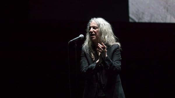 Patti Smith all'Auditorium Rai: prima del concerto incontra gli studenti