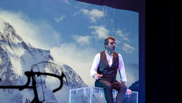 """""""E' questa la vita che sognavo da bambino"""", Luca Argentero in scena al Colosseo"""