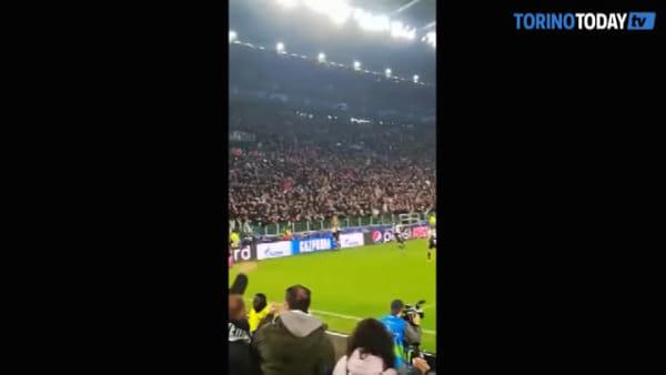 Juventus-Atletico Madrid 1-0: decisivo Dybala con una punizione-capolavoro