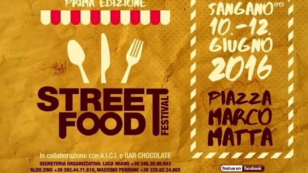 Arriva lo Street Food a Sangano