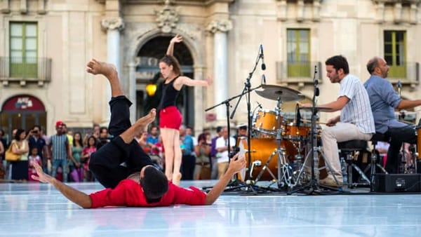 La grande danza nel week-end