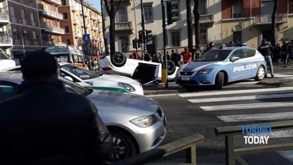 corso Lecce inseguimento auto polizia-2