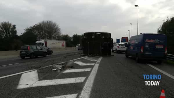 L'incidente di poco fa a Rivoli