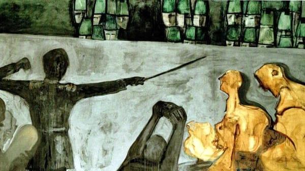 Le tele di Ezio Gribaudo al Museo del Risorgimento