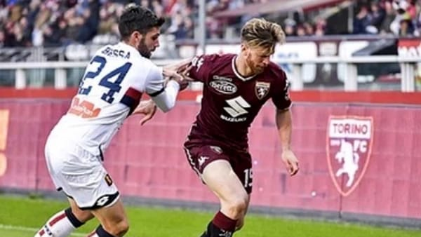 Video gol e sintesi partita Genoa-Torino 0-1: decide la rete di Ansaldi