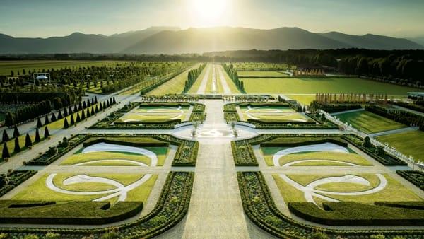Reggia di Venaria, riaprono i giardini