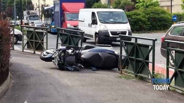 venaria scooter incidente 11 luglio 2019-2