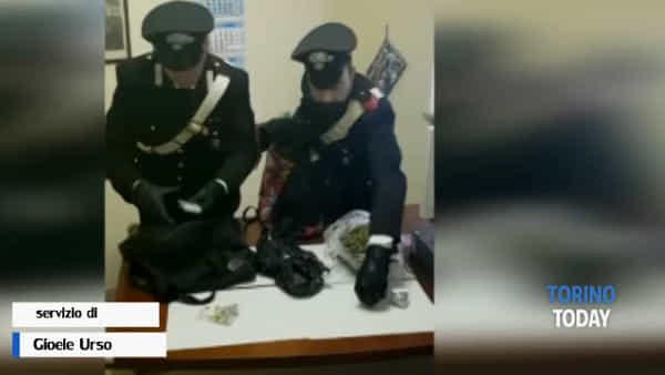Beccato con 1.300 dosi di marijuana: arrestato il pusher che forniva tutta la zona