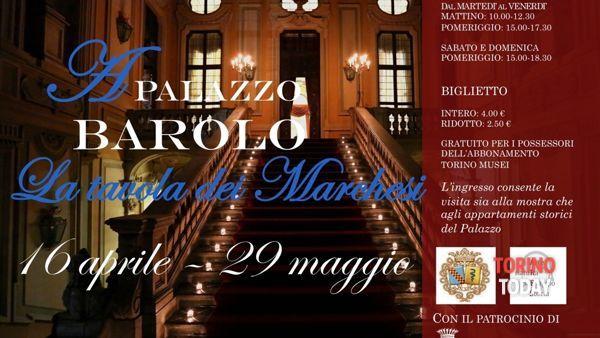 """""""La tavola dei marchesi"""" a Palazzo Barolo"""