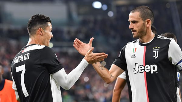 Video gol e sintesi partita Juventus-Sassuolo 2-2: Bonucci, Boga, Caputo, rig. Ronaldo
