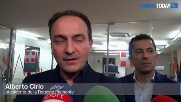 Misure anti-coronavirus, la proposta di Cirio: da lunedì scuole aperte per i lavoratori, lezioni da mercoledì