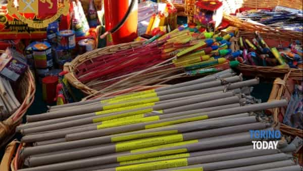 Due tonnellate e mezza di fuochi d'artificio sequestrate in poche ore
